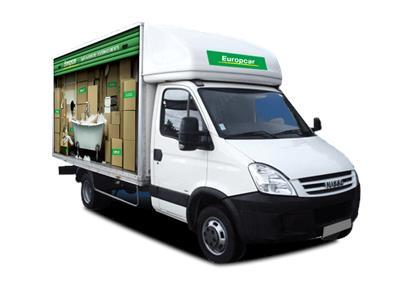 Location voiture Utilitaire Guyane - Iveco Daily Hayon 14m3 - Europcar Guyane